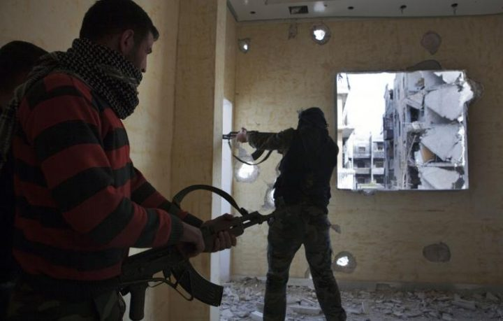Arab Reform Initiative - Foreign Backers and the Marginalization of the Free Syrian Army